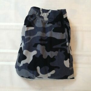 FRUIT OF THE LOOM 100% Polyester Elastic Waist Camo Print Lounge Pants Men's L