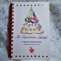 Glaxo Healthcare Employee Cookbook Vintage 90s Spiral The Resolutions Cookbook