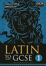 Latín A GCSE PARTE 1 por Henry Cullen y John Taylor Libro De Bolsillo 97817809