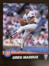 100% Authentic 8X10 Greg Maddux Hand Signed Autographed MLB All Star Photos