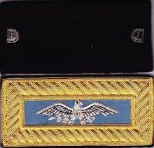 Civil War Infantry Colonel (Sm Eagle) Sky Blue Shoulder Boards Straps w/FreeCoin