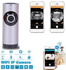 Cámara de seguridad vista panorámica para el hogar inteligente Wifi Monitor Para Teléfonos Inteligentes Tablet
