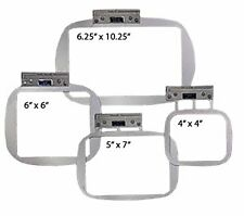 Durkee EZ Frames for Single Needle Embroidery Machines Combo 3