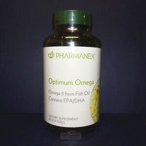 Nu Skin Nuskin Pharmanex Optimum Omega Omega-3 60 Softgels Sealed Exp 04/2022