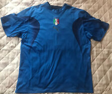 Puma ITALIA Italy Home Shirt Champions World Cup 2006 SIZE XL (adults) USED