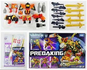 Transformers Animatron Predaking Takara Tomy 2010 Action Figure Box Set NEW