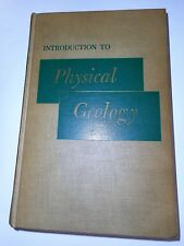 Introduction to Physical Geology, Longwell & Flint 1956 Wiley Hardcocver 3rd Ed.