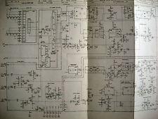 Philips N1500 Schaltpläne 6 Seiten ca. A3 plus Hinweisblatt
