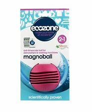 Écozone 2 en 1 magnoball anti-calcaire boule pour lave-vaisselle et machine à la...