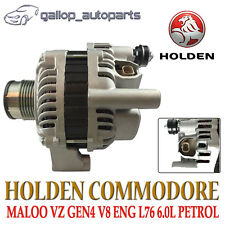 140AMP ALTERNATOR TO HOLDEN VZ COMMODORE V8 HSV VE WL LS2 L76 GEN 4 6.0L PETROL
