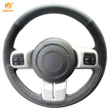 DIY Suede Steering Wheel Cover for Jeep Compass Grand Cherokee Wrangler Patriot