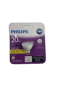 PHILIPS - Bright White MR11 GU4 BiPin LED 12 Volt Indoor Outdoor Light Bulb