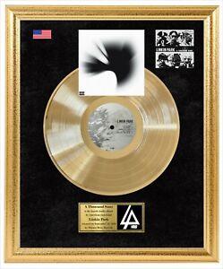 "Linkin Park – A Thousand Suns Vinyl Gold Record Framed LP Display 17""x21"""