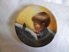 """Sunny Surprise"" Plate Donald Zolan Pemberton & Oakes 3 1/4"" coa Miniature"