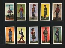 trade cards soldaten der welt soldiers 1969 full set