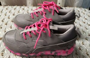 Heelys Force  Girls Youth/Womens Gray and Pink Camo Skate Shoes Sz Y6/W7
