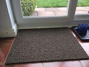 NICOMAN Washable Dirt Trapper Anti-slip Vinyl Loop Front Back Door Floor Rug Mat