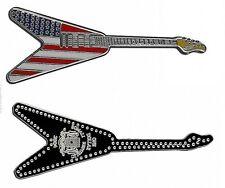 2004 Somalia color $1 Guitar-Stars and Stripes-USA