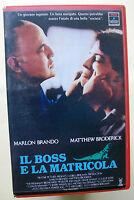 IL BOSS E LA MATRICOLA [vhs, Rca/Columbia Pictures, 98', 1990]