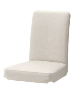 IKEA HENRIKSDAL Chair Cover Slipcover, Linneryd natural