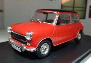 1:24 Scale Austin Rover Mini Cooper Red 1300 Diecast Detail Model 1973 Hachette