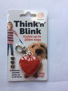 Think 'n' Blink Flashing Dog Tag