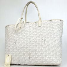 Authentic GOYARD AE20141 Saint Louis PM Herringbone Tote Bag Coated canvas/l...