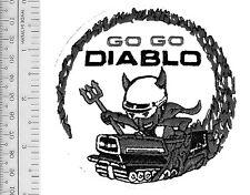 Snowmobile Bolens Diablo Rouge Hus-Ski  Promo Patch Pte Claire, Quebec, Canada b