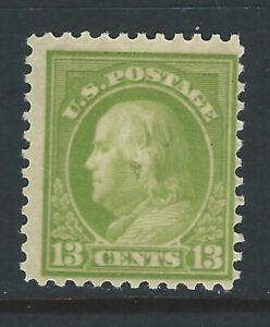 Bigjake, #513, 13 cent Franklin, *H