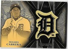 MIGUEL CABRERA 2016 TOPPS COMMEMORATIVE TEAM LOGO PIN INSERT