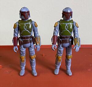 Vintage Star Wars BOBA FETT lot Of 2 Original Nice!! 1979 Kenner HK COO