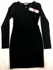 NWT Parker Women's Size XS Black Long Sleeved Dress