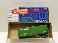 MDC Roundhouse 40' CB&Q Boxcar - Green 1108