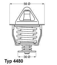Thermostat Kühlmittel - Wahler 4480.82D