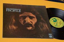 JAN AKKERMAN LP PROFILE TOP PROG ORIG UK 1972 EX TEXTURED COVER