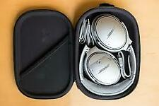 Bose QuietComfort 35 II Wireless Noise-Canceling Over the Ear Silver Headphones