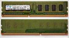 4x 2gb 8gb Desktop memoria RAM DIMM ddr3 1600 MHz 240pin pc3-12800 pc3-12800u