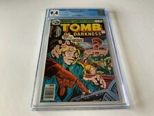 TOMB OF DARKNESS 21 CGC 9.4 WHITE PAGES ATOMIC EXPLOSION CVR MARVEL COMICS 1976