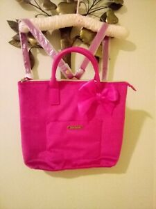 NWT Juicy Couture Pink Velvet Back Pack