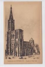 AK Strasbourg, Strassburg, Cathedrale, 1920