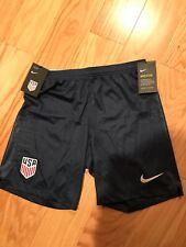 Nike Soccer Football USA 18 Away Size L BNWT 940452-410 Navy Short Breathe