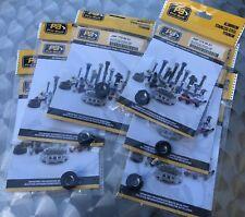 6x Kettenradmutter Pro Bolt Kettenrad Mutter M10 x 1.25mm, Race, Alu sw, 7759097
