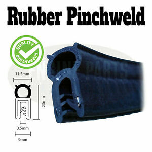 10 X Metres of Pinchweld pinch weld rubber seal toolbox car van boot seal edge
