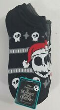 The Nightmare Before Christmas Socks No Show 6 Pairs Jack Skellington Sally Zero