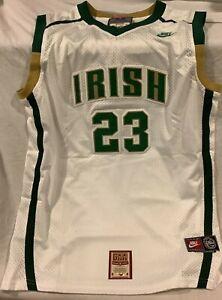 LeBron James Signed Autographed Irish Custom Jersey With COA #23