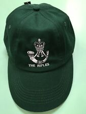 High Quality bottle green Rifles Regiment Baseball Cap