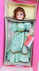 Paradise Galleries Porcelain Doll Shannon the Shamrock Fairy New In Box NIB