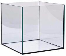 Aquarium 50x50x50 Würfel Quadrat Becken Glasbecken Meerwasser Süßwasser