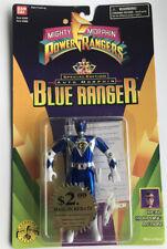 Power Rangers 1995 Special Edition Auto Morphin Blue Ranger Action Figure NOS