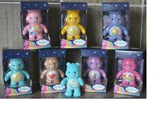 alle 8 verschiedenen Care Bears Figuren im Set/ Glücksbären flocked ca.7 cm groß